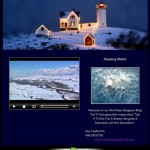 Light House Christmas Video Ecard