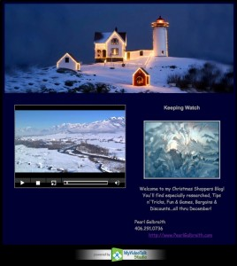 Light House Christmas Video Ecard