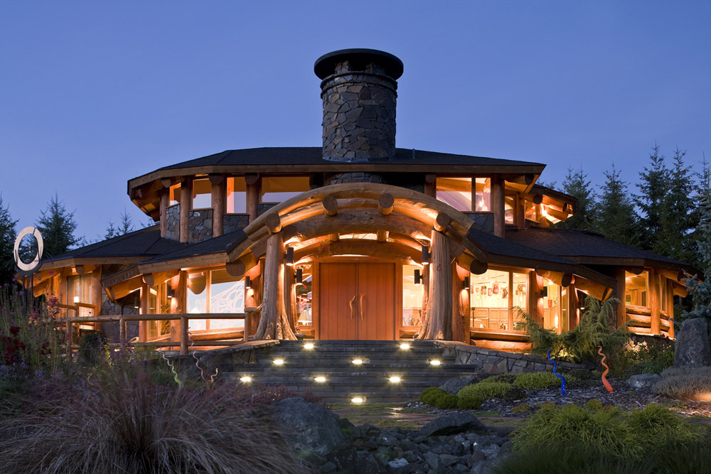 Port Angeles Log Home