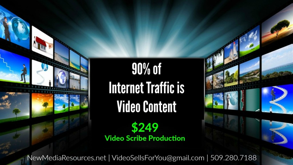 new media resources 90 of internet traffic is video