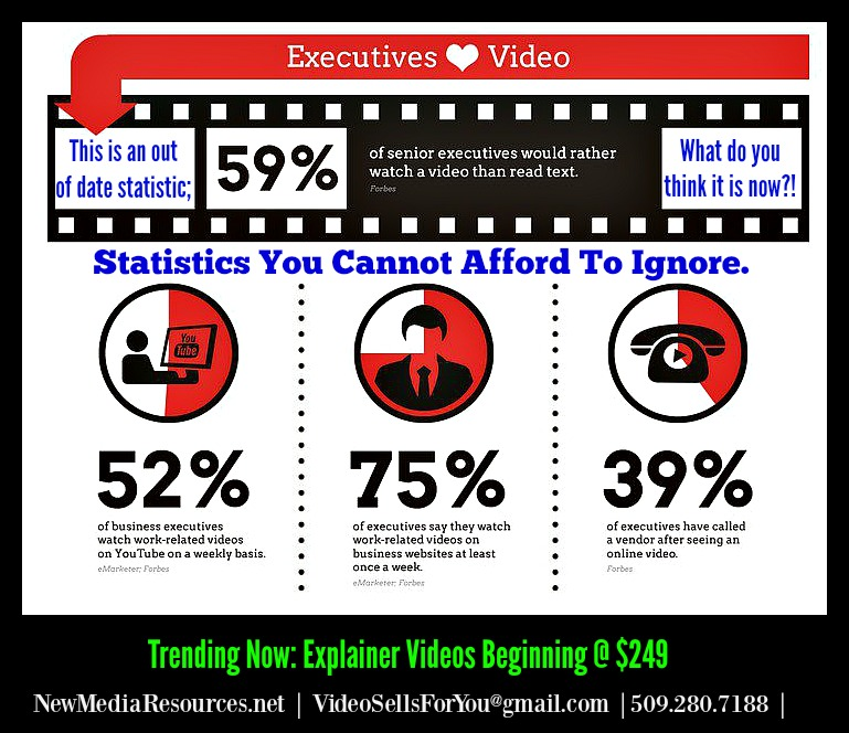 new media resources net executives view videos more than ever